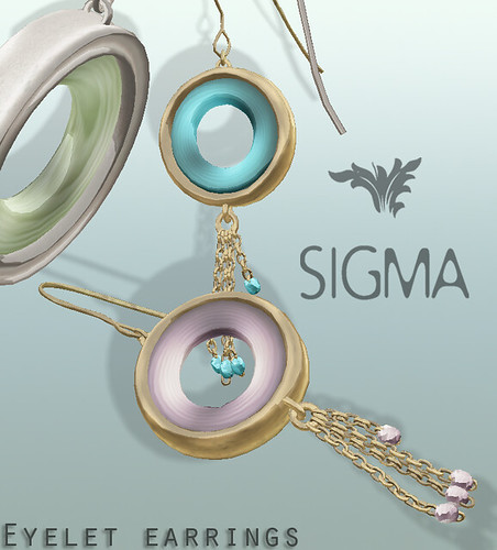 SIGMA Jewels/ Eyelet earrings