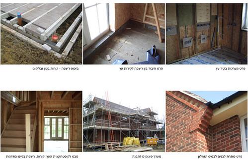 פרויקט ניסוי בנים ממשיכים בעיירה Tingewick באנגליה (נעשה במשרד David Parker Architects). הפרויקט נעשה תוך שימוש בעקרונות ובסטנדרטים של בנייה ירוקה