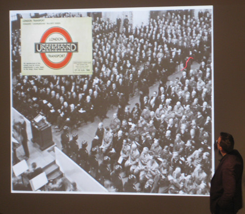 Concert celebrating centenary of German Railway - Frank Pick talk at London Transport Museum