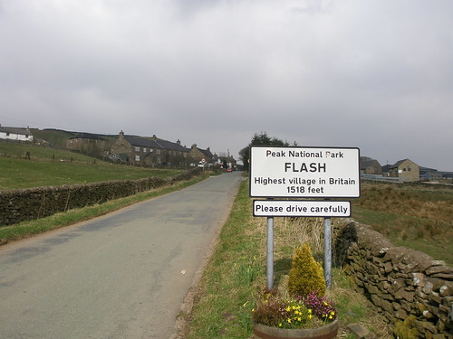 FLASH! - ah hah - Highest village in Britain