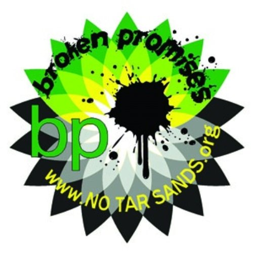 BP logo subverted