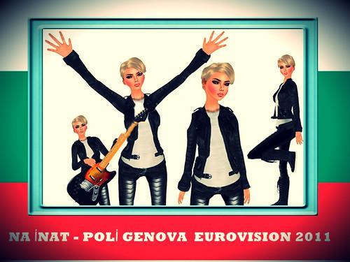 Eurovision Song Contest 2011  Bulgaria - Poli Genova * Na Inat