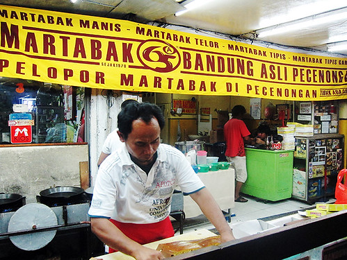 The making of Martabak Manis