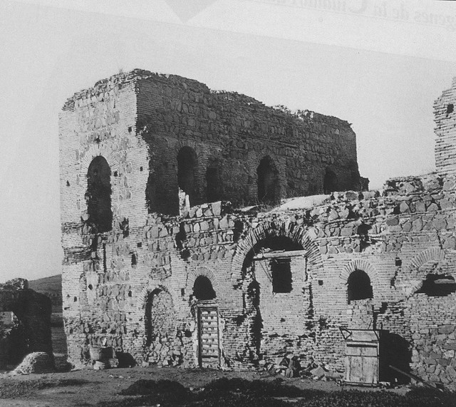 Palacio de Galiana a comienzos del siglo XX. Foto Rodríguez