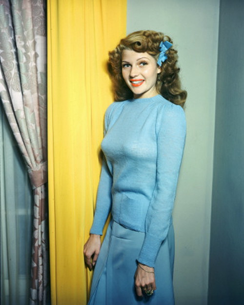 rita hayworth color