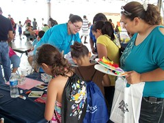 Family Fun Day ~ June 2011 (klrn san antonio) Tags: dog kids sanantoniotexas familyfunday rosedalepark wordworld klrn writerscontest