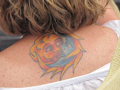 Sun and Moon tat