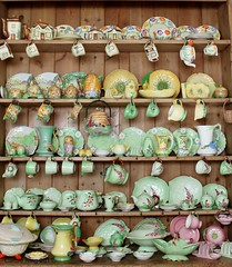 1930s China Collection: My Kitchen (Curry15) Tags: china 1930s explore myhome beswick mykitchen carltonware grindley royalwinton grimwades jameskent burleighware pinedresser victoriandresser