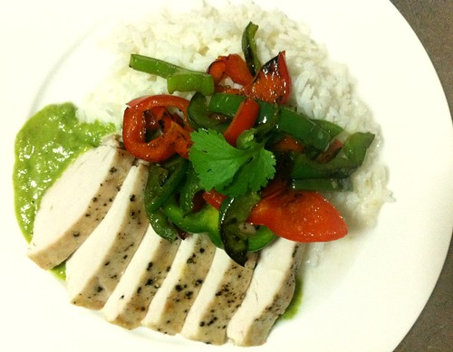 Deconstructed Chicken Thai Green Curry by mjd-s