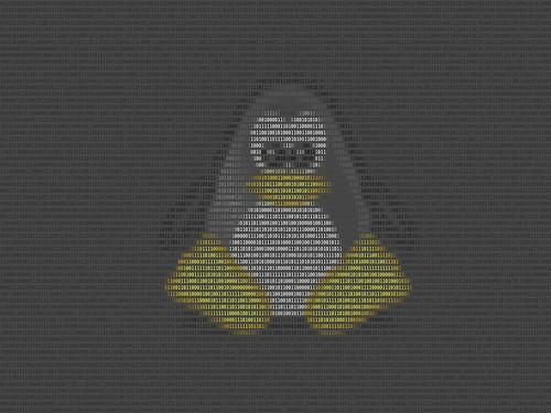ASCII Tux