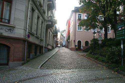 Steinstraße am Friedrichsbad