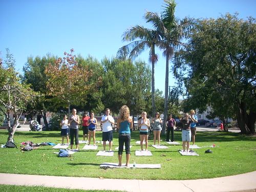 Roxy Athletix Tour: USCB Yoga