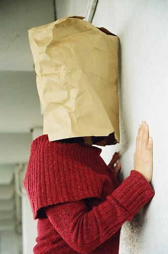 bag over face