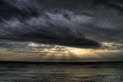 Mystical Sun rays (HDR) (-Bandw-) Tags: wallpaper sky italy panorama sun clouds digital canon landscape geotagged eos rebel high italia nuvole cielo nubes sicily mystical augusta rays wallpapers bandw provincia range turismo geotag hdr sicilia siracusa xsi 1865 trinacria sicile sizilien dinamic sicili photomatix siclia tonemapped  450d canoneos450d canonefs1855mmf3556is flickrsicilia digitalrebelxsi bandwit wwwbandwit canoneos450ditalia  geo:lat=37225081 geo:lon=15223416