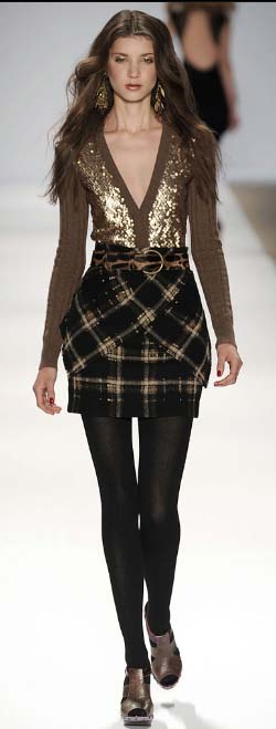 Nanette Lepore sweater skirt Fall 2009 copy