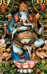 blue Gaea (ion-bogdan dumitrescu) Tags: wood shop ganesha singapore antique carving ganesh littleindia vinayaka ganapati ganesa bitzi pillaiyar summer09  ibdp gaea mg6596 findgetty ibdpro wwwibdpro ionbogdandumitrescuphotography