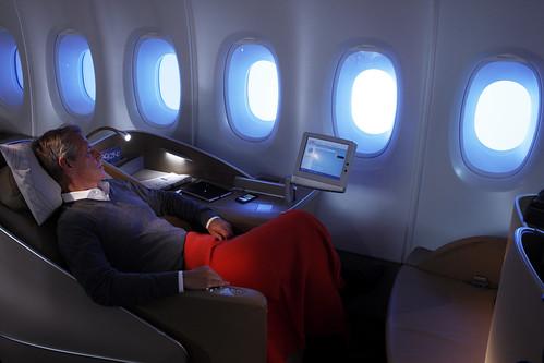 A bord de l'A380 Air France  (8)