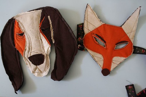 hound & fox masks