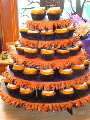 Halloween Wedding Cupcakes