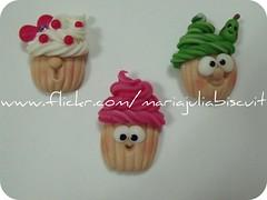 ímãs (Alane • maria julia biscuit) Tags: funny handmade artesanato biscuit cupcake porcelanafria coldporcelain feitoamão