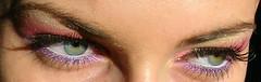 eyez (Adriana Chira) Tags: pink green eye eyes lashes eyelashes purple makeup
