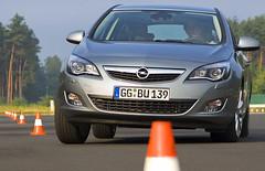 Geschüttelt in Dudenhofen - der Opel Astra im Test