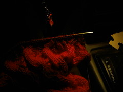 Knitting in the Driver's Seat
