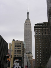 Empire State Building - the tallest building in NYC