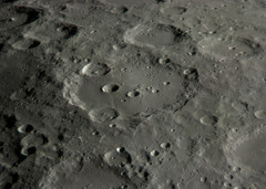Clavius Crater 11/08/09 (zAmb0ni) Tags: sky moon night webcam satellite telescope crater celestron clavius spc900nc Astrometrydotnet:status=failed Astrometrydotnet:id=alpha20091153080401