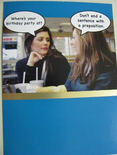 Where's your birthday party at?