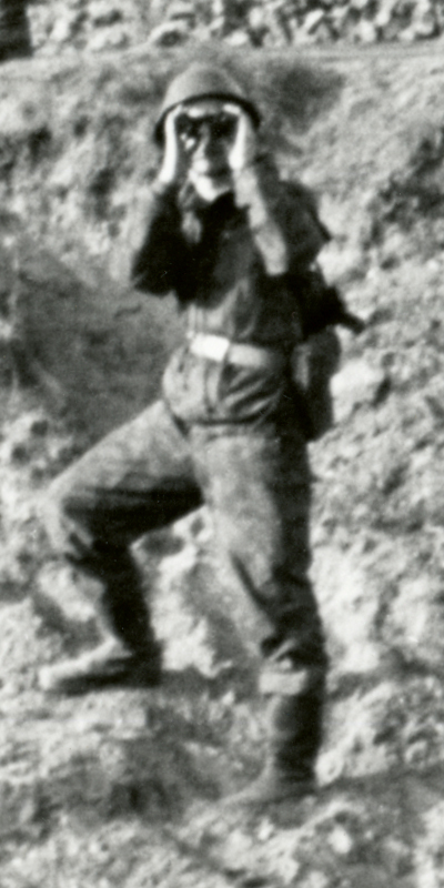 1961_Soldier with binoculars