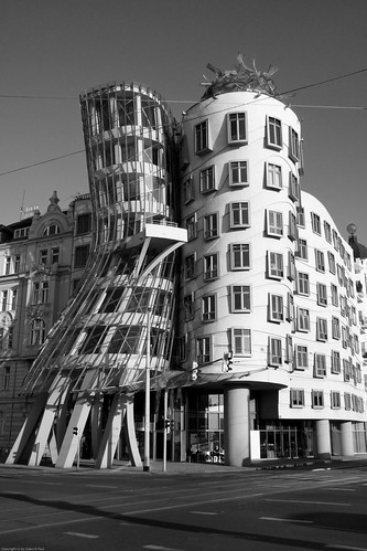 "the ""Dancing House"""