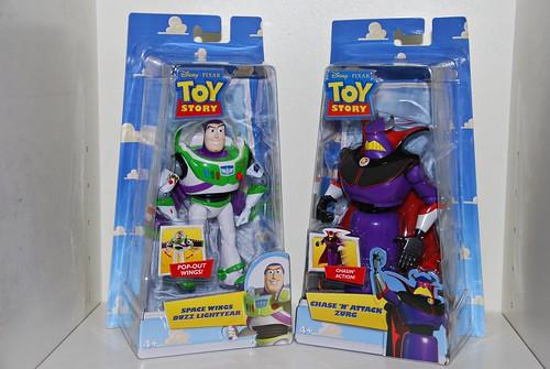 Buzz Lightyear & Emperor Zurg