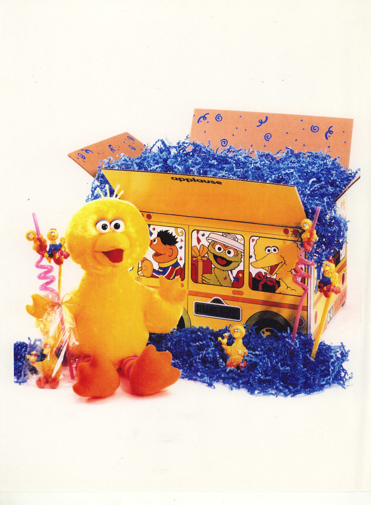 Sesame Street Box Toy