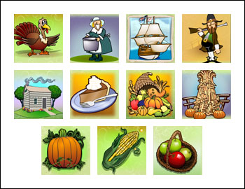 free Gobblers Gold slot game symbols