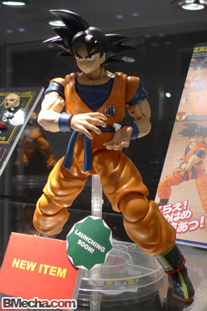 AFA 2009 Bandai Upcoming Products MG Songoku