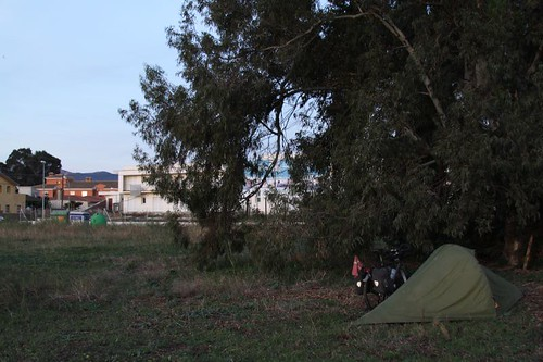 First wild camp back on European soil. Just outside of Algeciras.