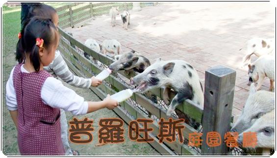 【台中市】普羅旺斯庭園餐廳∼親子餵豬趣- 食在遊 ... - FG部落格
