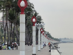 Manila Bay coast walk