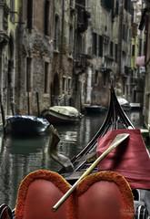 Waiting for romance (janusz l) Tags: old venice italy geotagged for canal waiting empty romance oar romantic gondola gondoliers janusz leszczynski 004949 geo:lon=12337743 geo:lat=45437618