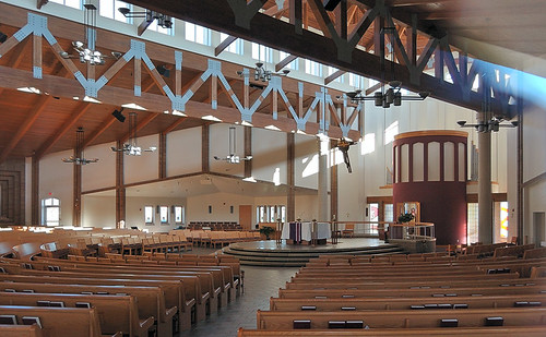 Holy Trinity Roman Catholic Church, in Fairview Heights, Illinois, USA - interior
