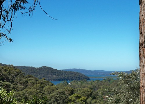 View from Timbertop Drive Woy Woy