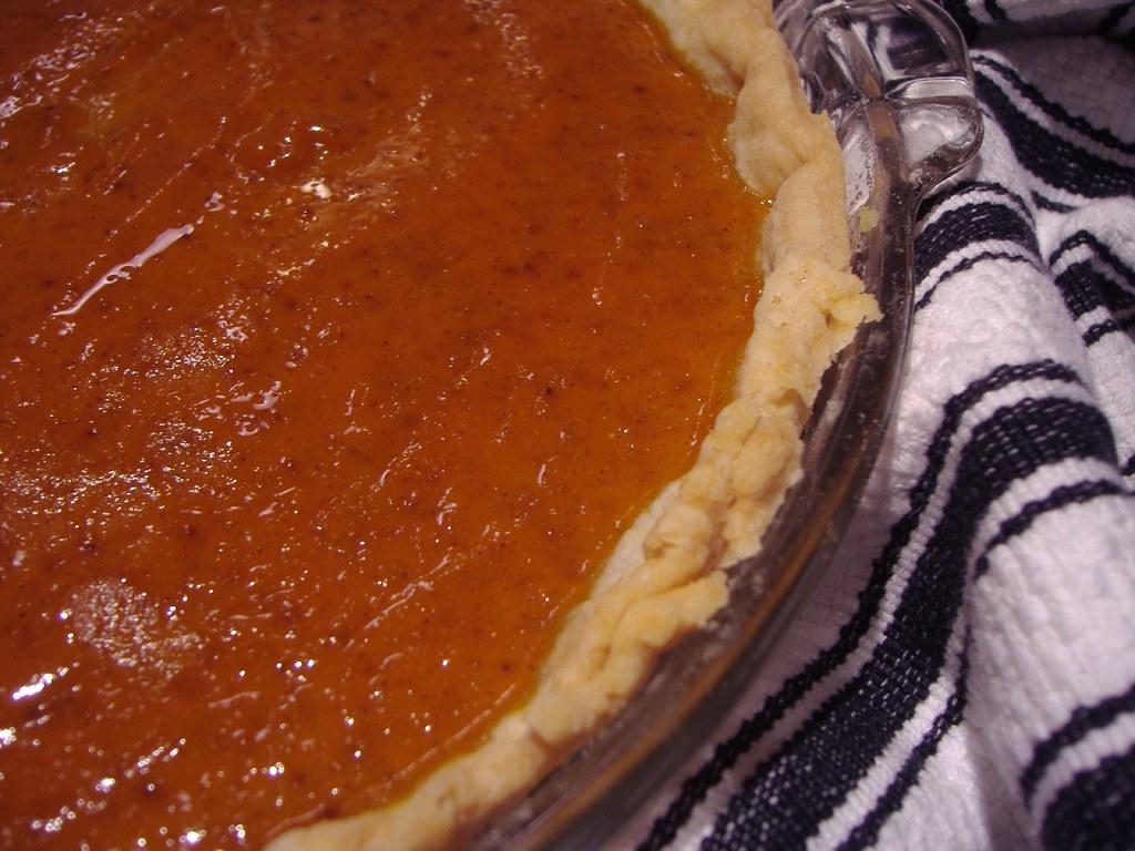 thanksgiving - pumpkin pie.
