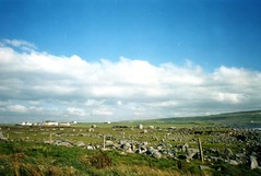 """And the sun pour down like honey where you stand"" - Doolin Co Clare (sandraarrell) Tags: 2003 autumn ireland doolin september coclare sandraarrell"