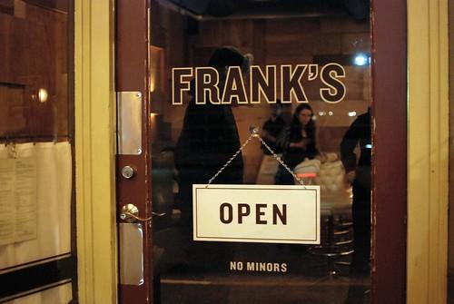 Frank's: December BOM