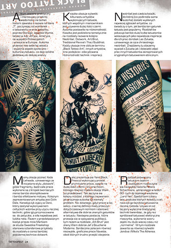 Polish Tattoo Mag Review Page 2 by Needles and Sins (formerly Needled)