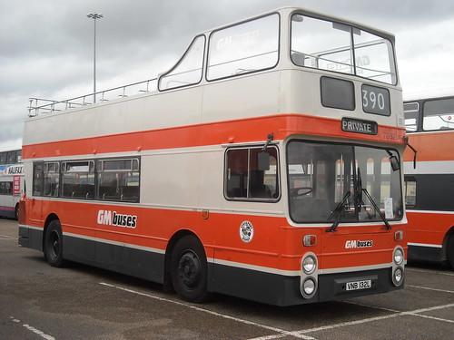 Manchester's open-top bus
