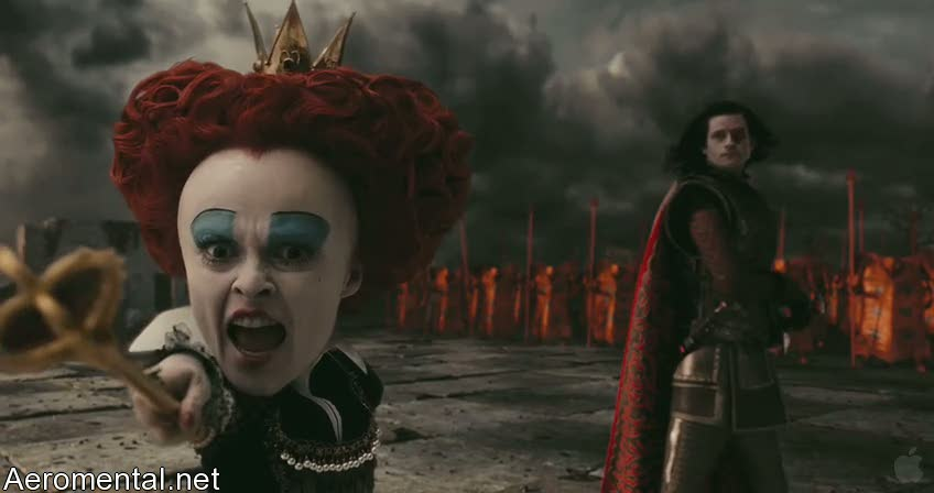 Alice in Wonderland Red Queen army