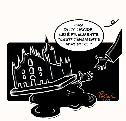 Berlusconi legittimo impedimento