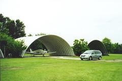 SteelMaster Steel Prefabricated Hangar